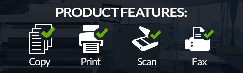 refurbished Kyocera TASKalfa 3553ci Features