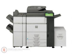 Sharp MX-7500N Low Meters