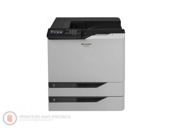 Sharp MX-C607P Low Meters