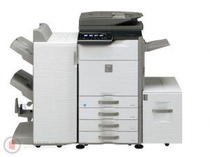 Sharp MX-M565N Low Meters