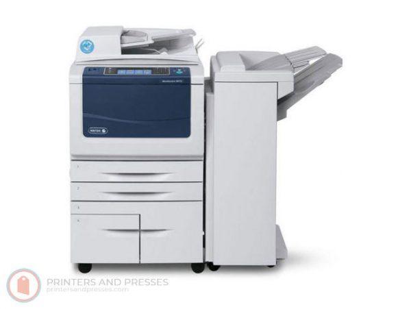 Xerox WorkCentre 5875 Low Meters